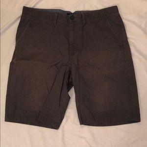 Vans regular shorts, grey. Broken-in look and feel